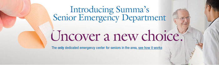 Senior Emergency Room - Summa Akron City Hospital